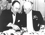 Mitchell Hepburn and Dr. Herbert Bruce